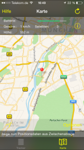 GPS Tracker Tool - Map