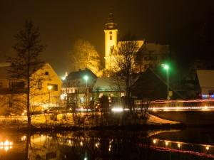 Lichterfest Nankendorf - Dorfkirche