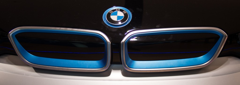 I3 in der BMW Welt