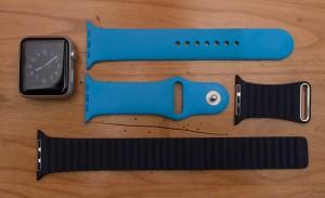Apple Watch und Armbänder
