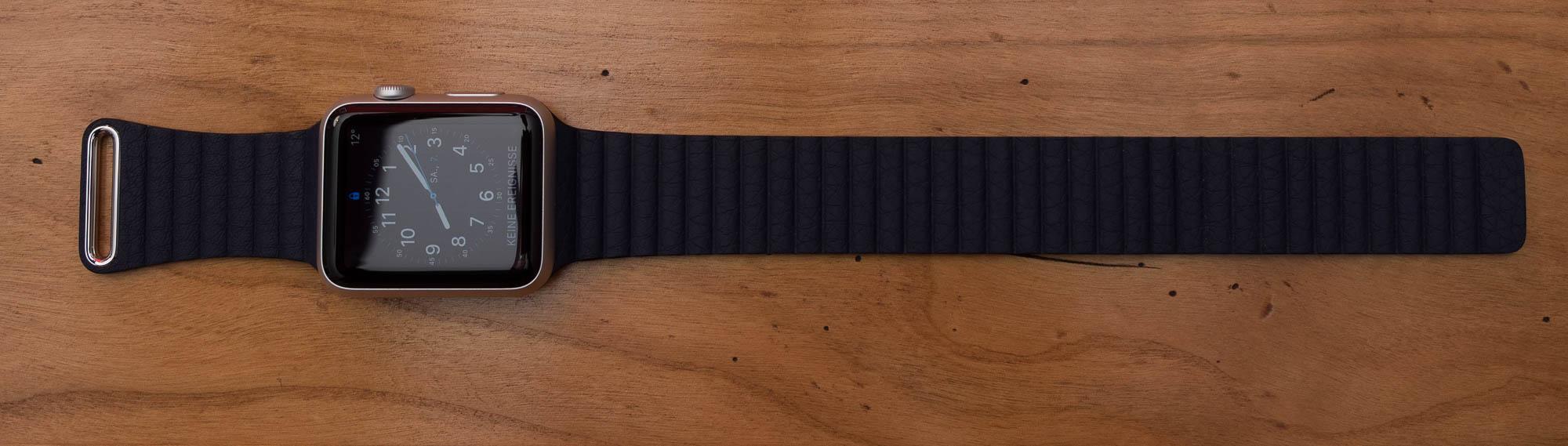 Alternatives Apple Watch Armband und Kickstarter Frust