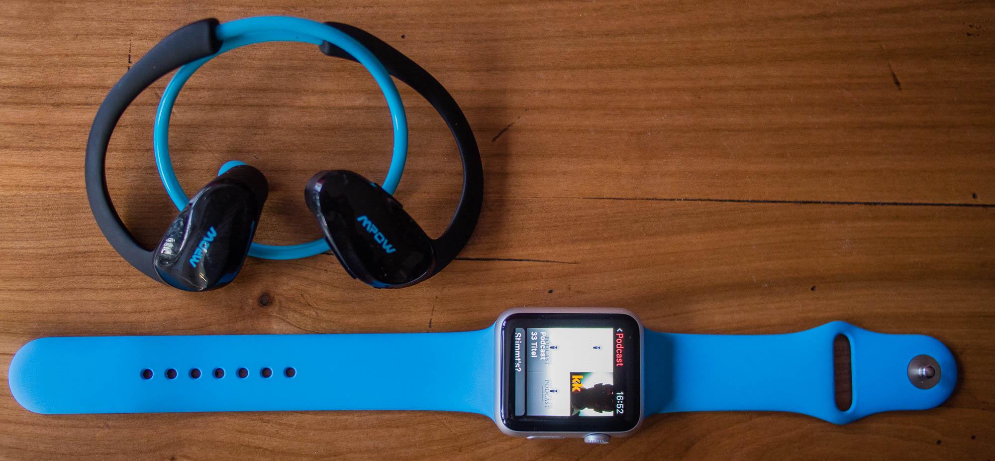 Podcasts auf der Apple Watch