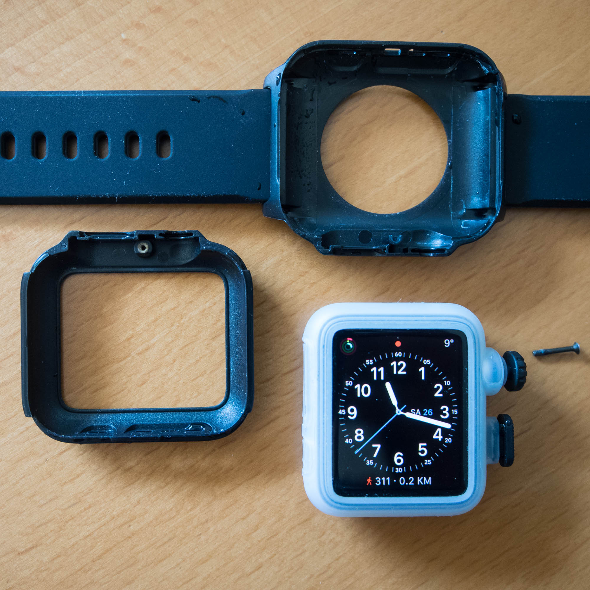 AppleWatch mit Catalyst zerlegt