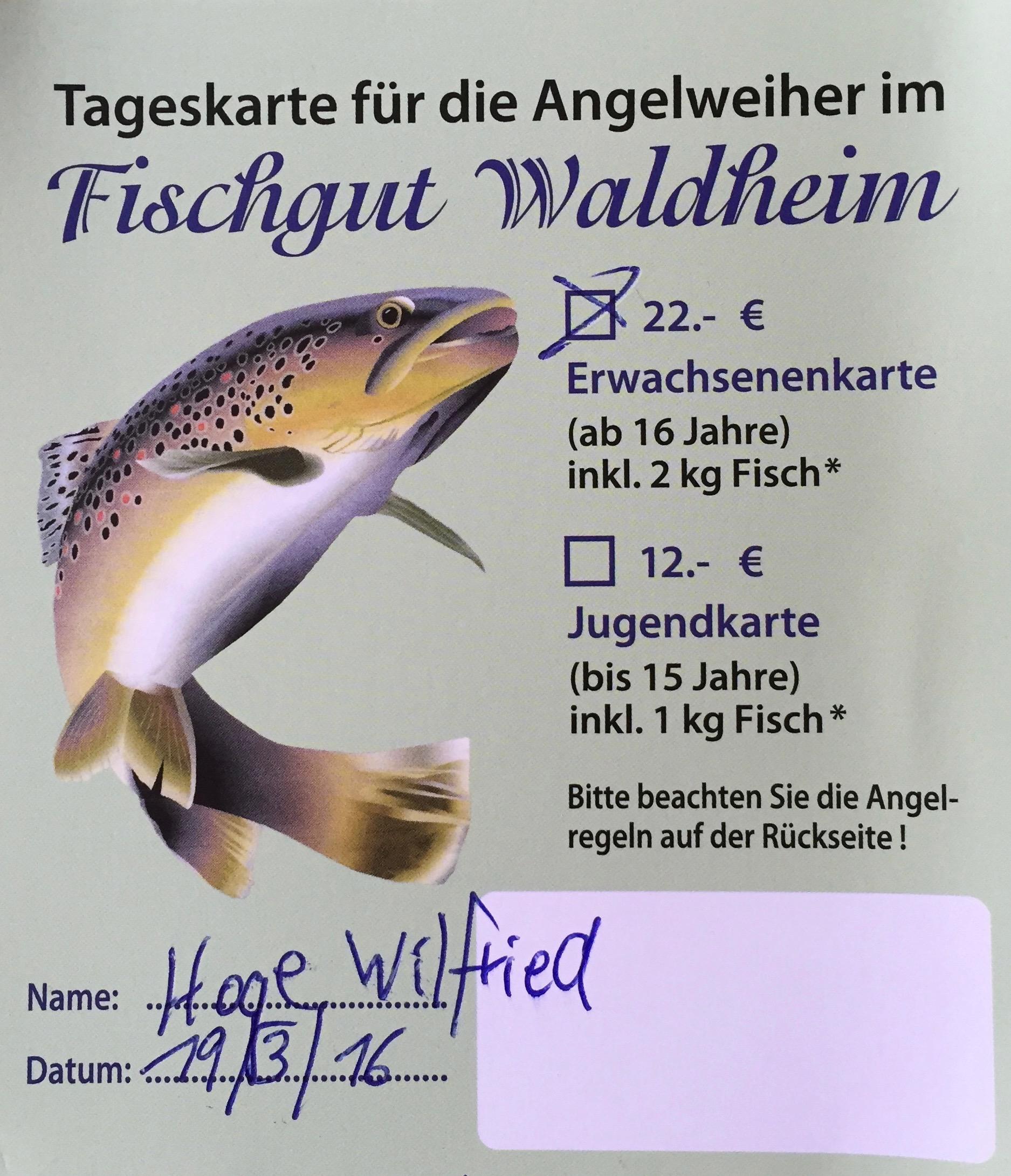 Fischgut Waldheim