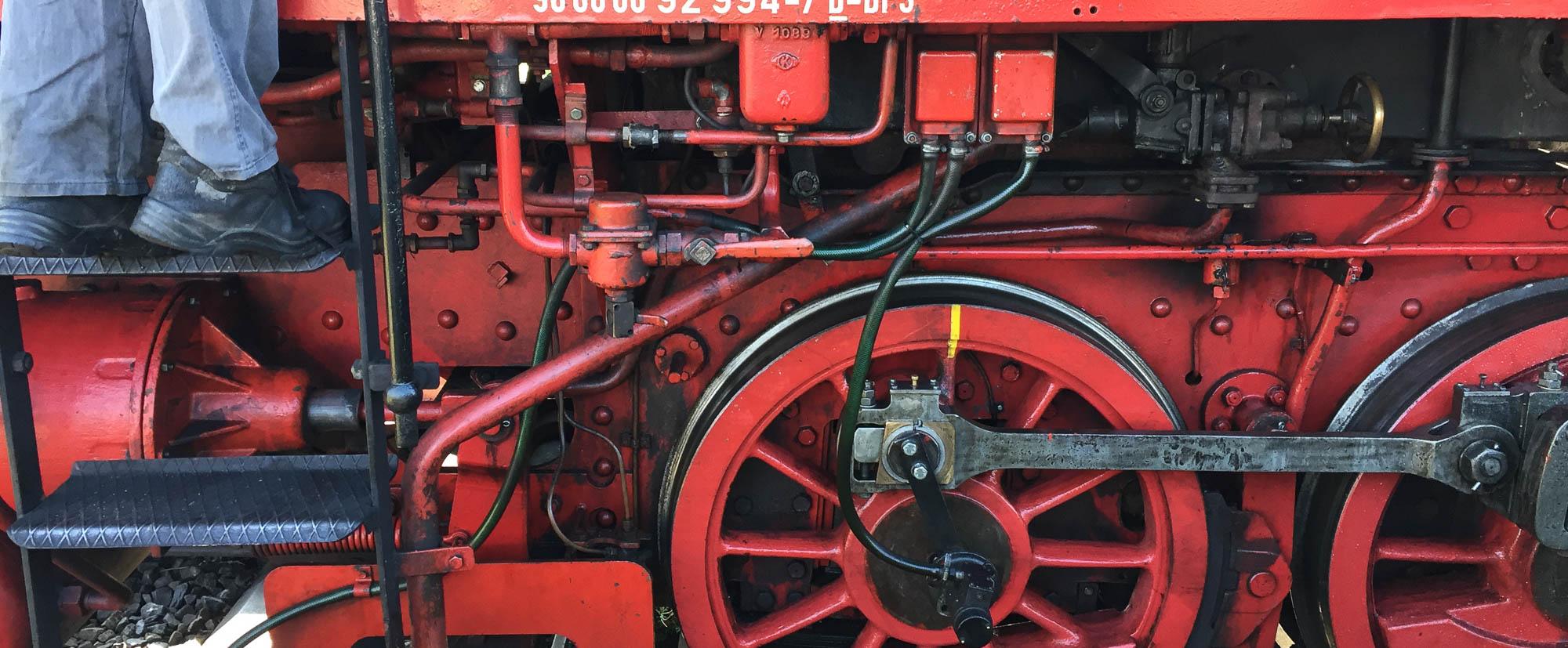 Dampfbahn und Kerwa in der Fränkischen Schweiz