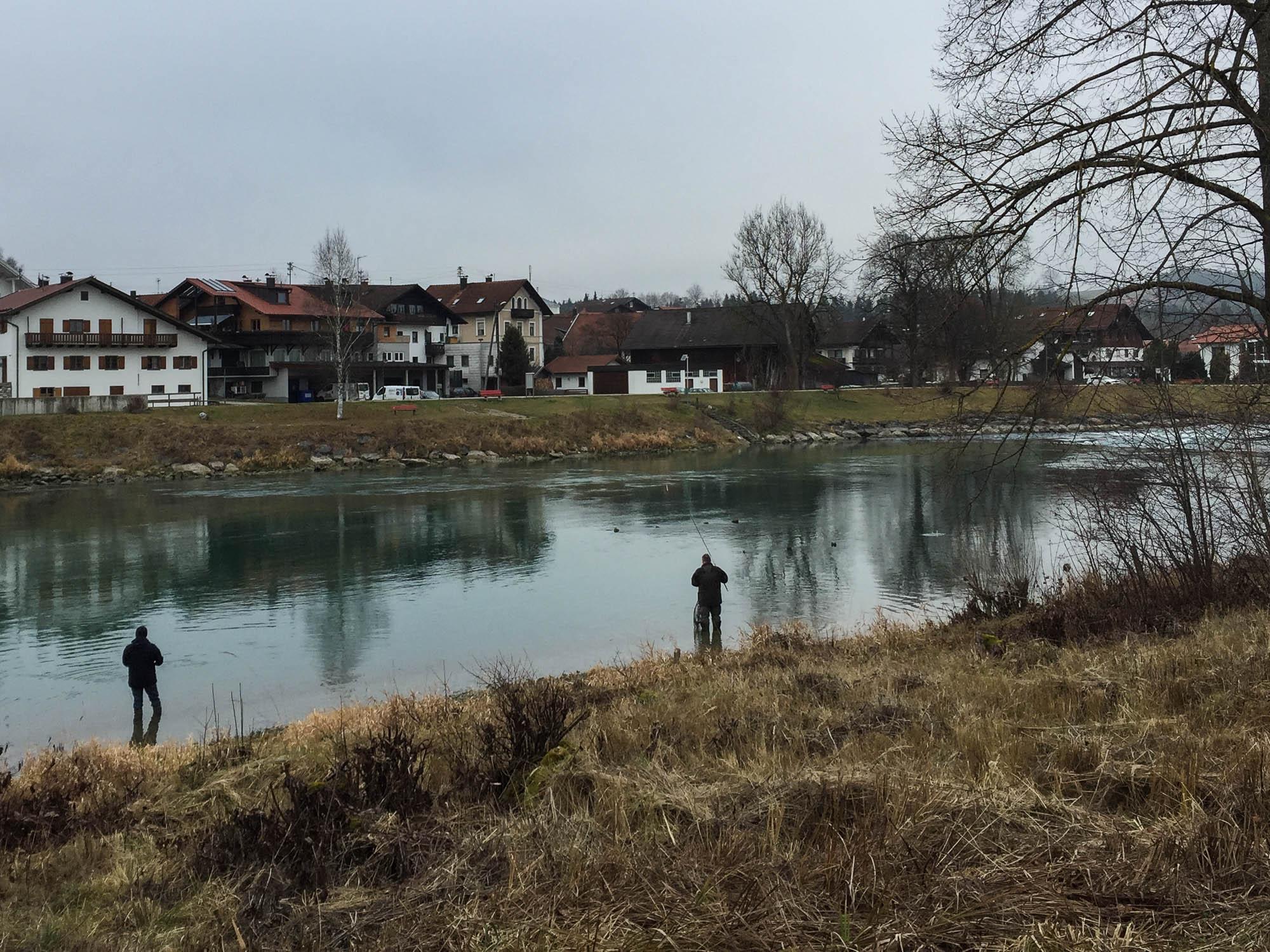 Fischen am Lech