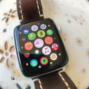 AppleWatch mit Apps