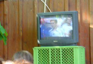 WM 2006 im Biergarten