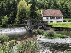 Sachsenmühle mit Wehr